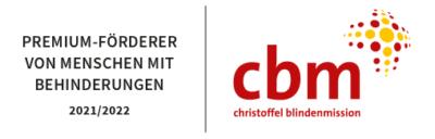 Christoffel Blindenmission Premium Förderer von Menschen mit Behinderung