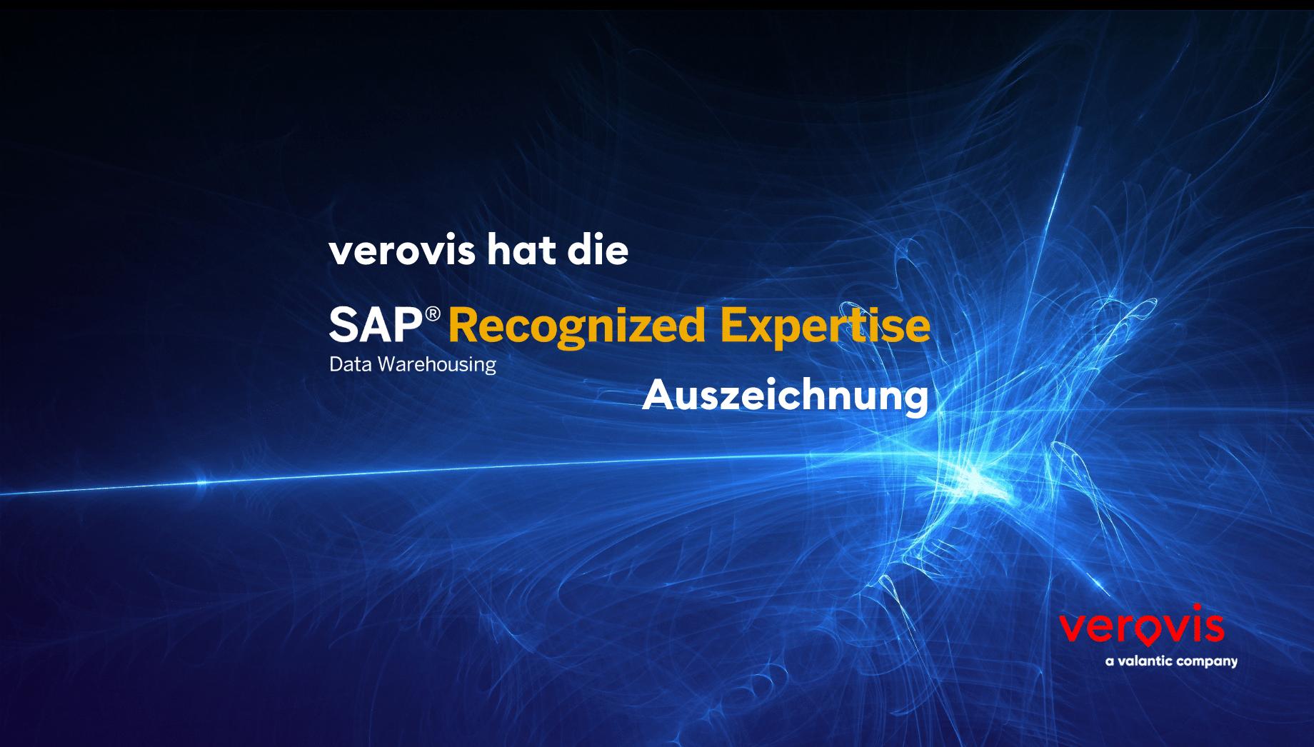 SAP Recongnized Expertise